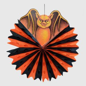 Halloween Big Bat Paper Decoration