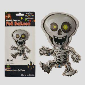 Halloween Foil Balloon - Skeleton