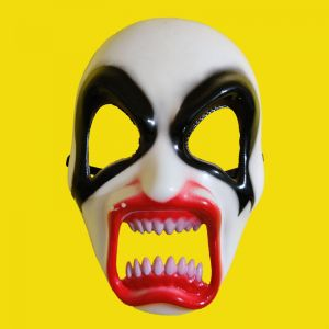 Halloween White Scary Ghost Mask
