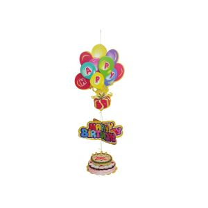 Happy Birthday Balloon Hanging