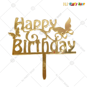 Happy Birthday Cake Topper – Model 200C