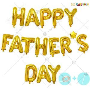 Happy Fathers Day Foil Balloon Banner