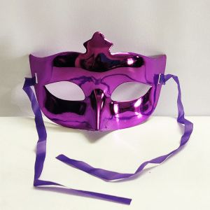 Masquerade Eye Mask - Metallic Purple