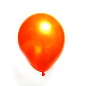 Metallic Balloons - Orange - Set of 25