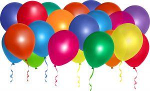 Metallic Balloons - Set of 25