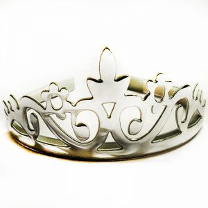 Metallic Crown - Sliver