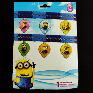 Minion Theme Paper Garland Decoration