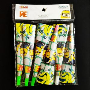 Minion Theme Whistles - Set of 6