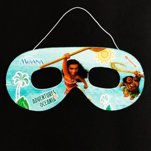 Moana Theme Paper Eye Mask - Set of 10