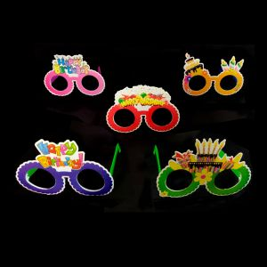 Birthday Goggles Paper - Set of 1