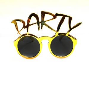 Party Goggle - Golden