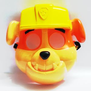 Paw Petrol Plastic Mask - Rubble