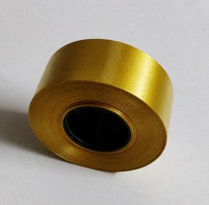 Plastic Curling Ribbon - Gold (Width  1 inch, Length  25 mtr)