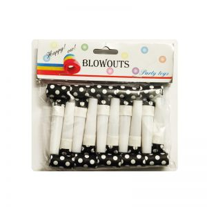Polka Dot Whistle - Black