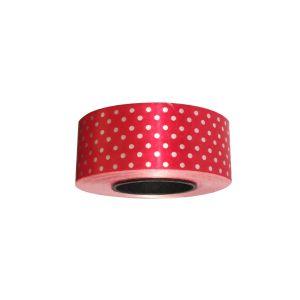 Red Polka Dot Curling Ribbon