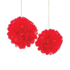Red Pom Pom - Set 1
