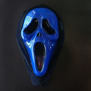 Scream Scarry Horror Mask for Halloween - Blue Color