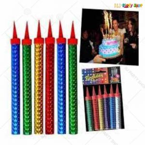 Sparkling Birthday Candle - Set Of 6