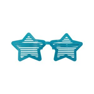 Star Shape blue Jumbo Goggles