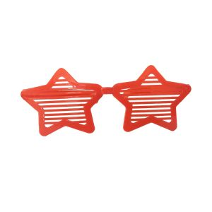 Star Shape Red Jumbo Goggles