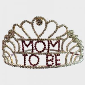 Baby Shower - Stone Crown Mom To Be - Big