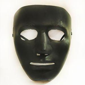 Stoneman Plastic Face Mask - Black