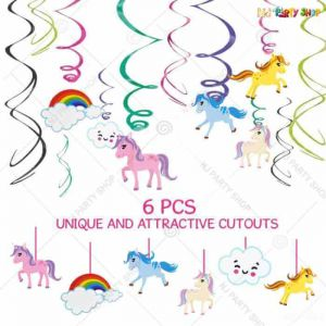 Unicorn Swirls - Set Of 12