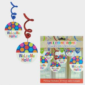 Welcome Home Swirls - Set of 12 Swirls & 6 Cutouts