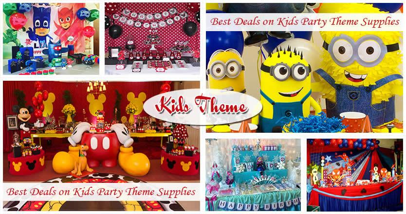 Kids Birthday Decorations